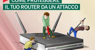 Router: attenti alle falle di sicurezza