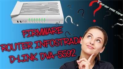 Firmware router infostrada d-link DVA-5592