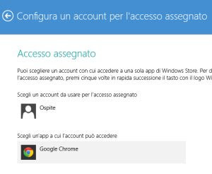 Bloccare internet su un account windows 8.1