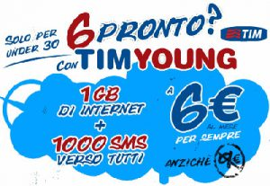 Tim young offerta