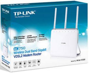 Tp-Link Archer VR200, modem router potente ed economico