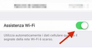 Assistenza Wi-Fi con iOS 9