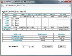 ADSL / ADSL2 ed il rapporto segnale / rumore SNR