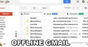 Come usare Gmail senza connessione internet