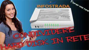 Condividere hard disk in rete: router D-link infostrada DVA-5592