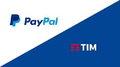 TIM: pagare le bollette con Paypal
