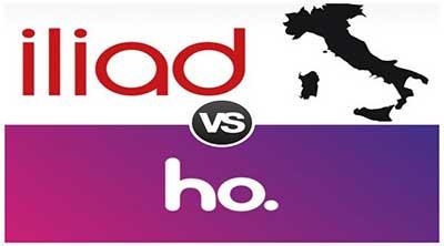 Iliad oppure Ho. mobile? Quale operatore scegliere?