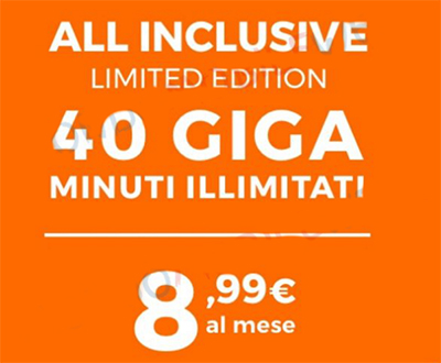 Wind All inclusive Limited: offerta mobile Wind